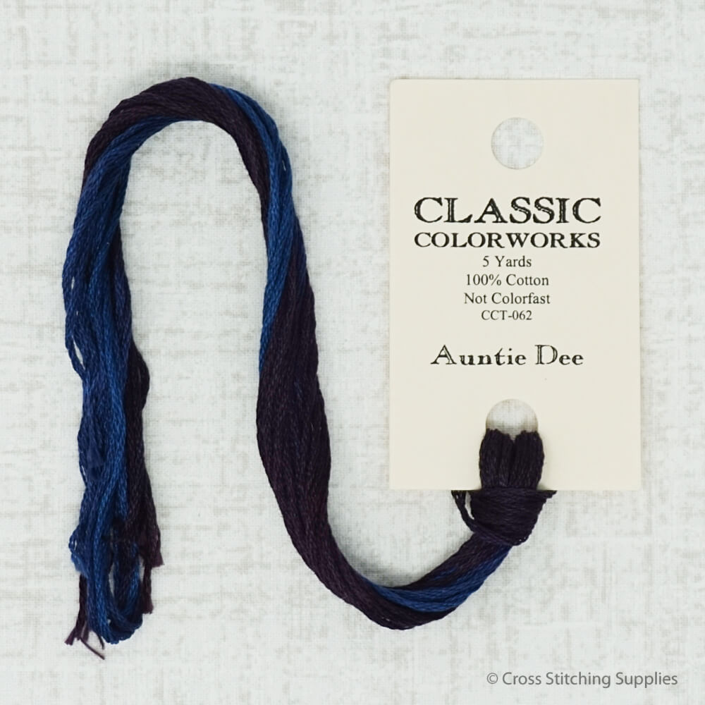 Auntie Dee Classic Colorworks embroidery thread