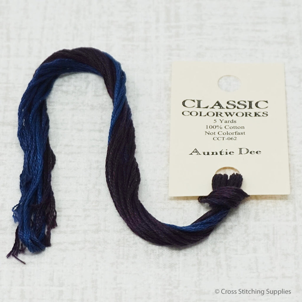 Auntie Dee Classic Colorworks embroidery floss