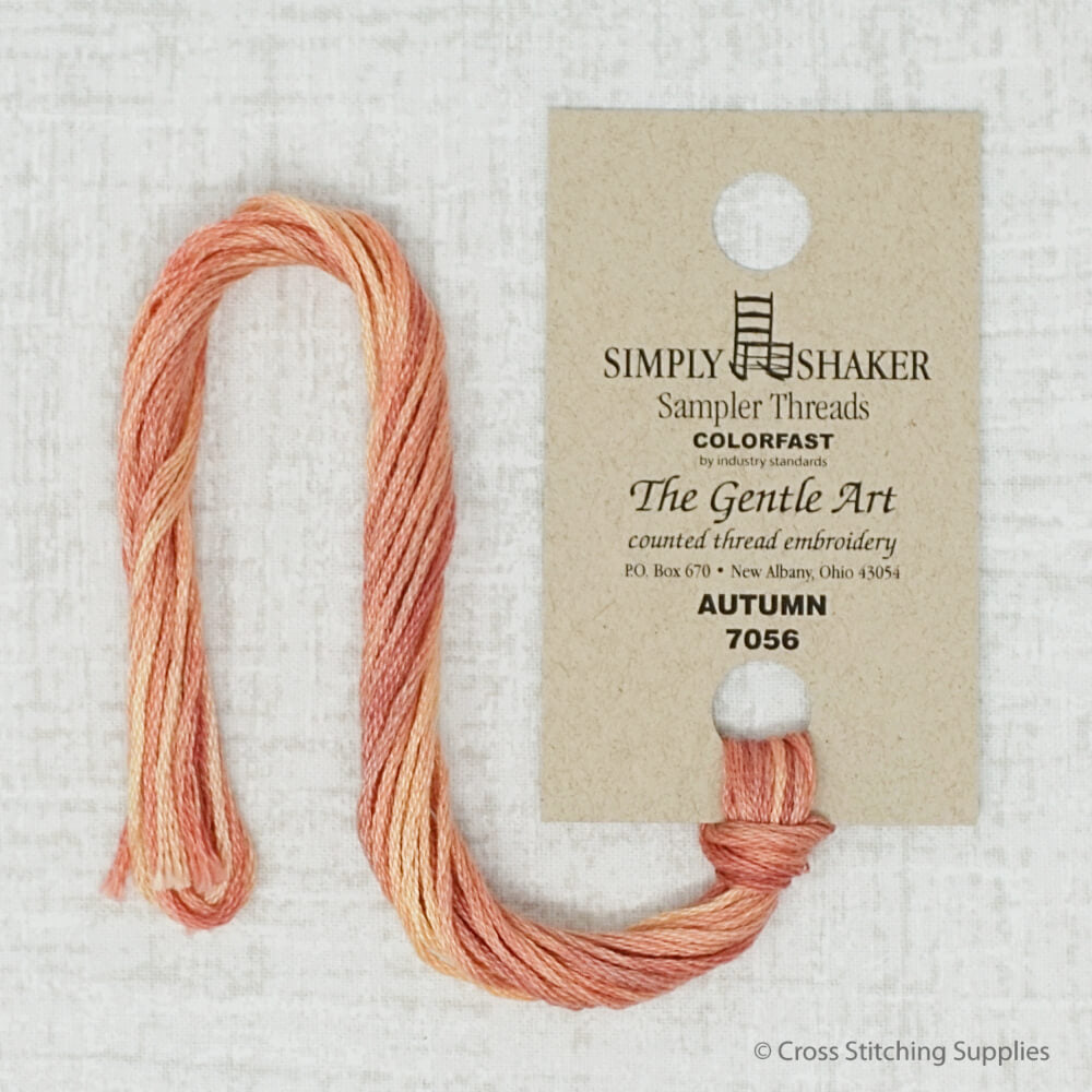 Autumn the Gentle Art embroidery thread