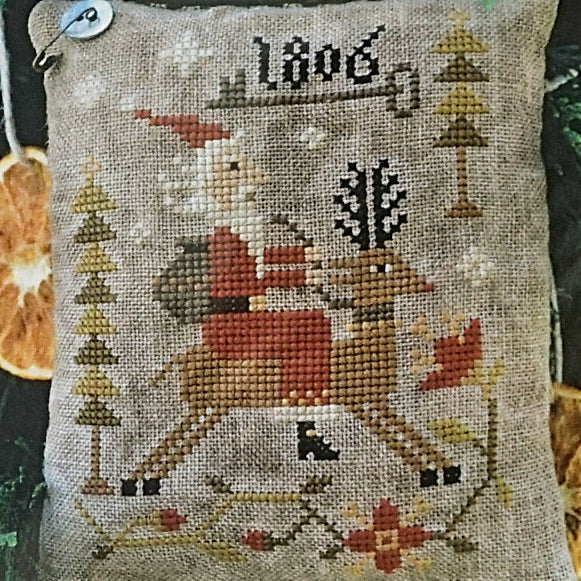 Through the Woods counted cross stitch pattern