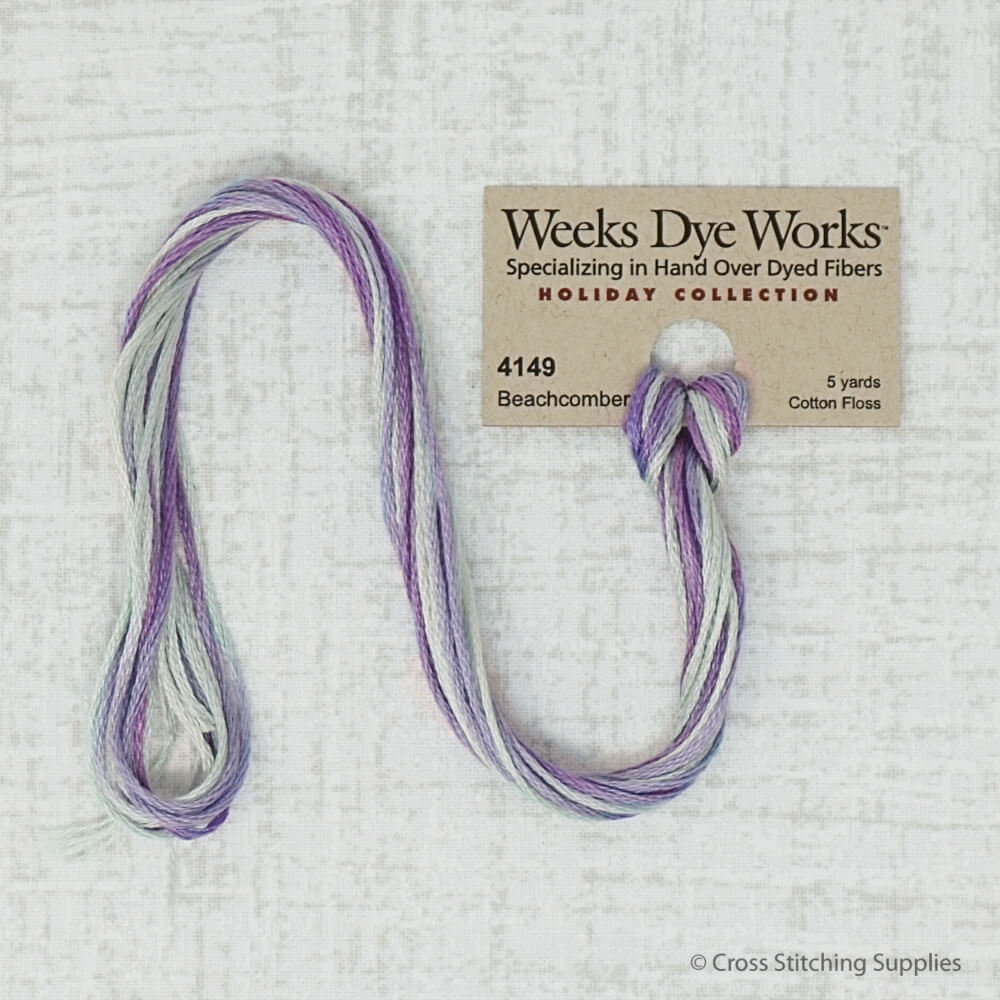 Beachcomber Weeks Dye Works embroidery thread