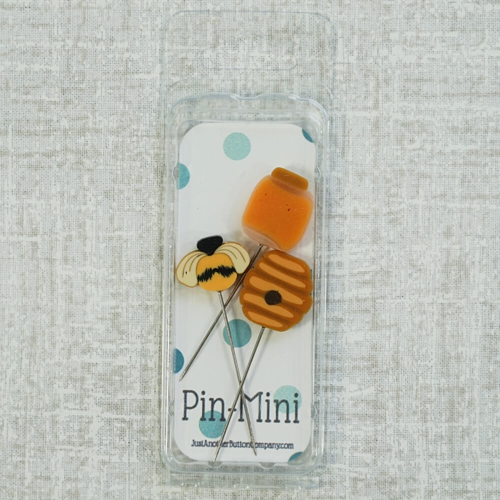Bee Sweet Pin Mini counting pins top view