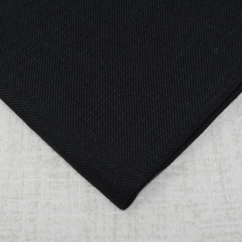 Black 32 count belfast linen from Zweigart