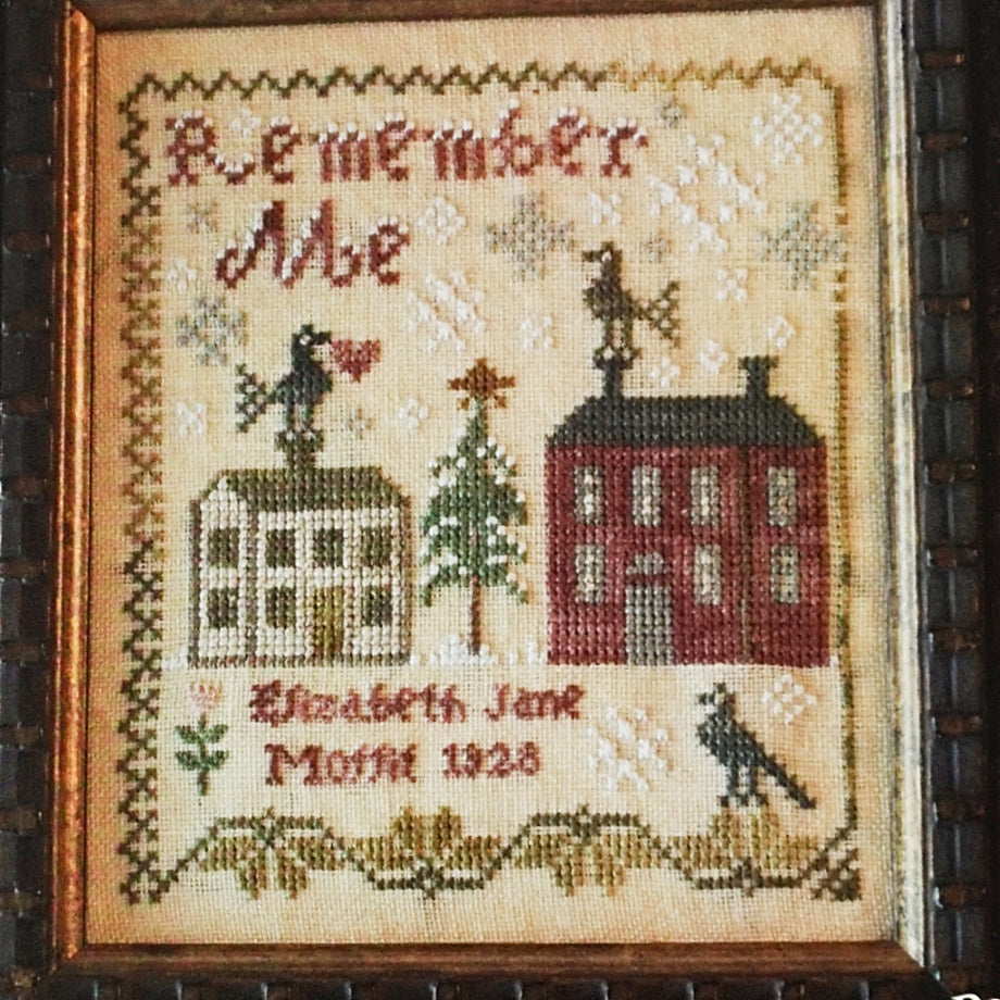 Elizabeth Jane Cross Stitch Pattern | Blackbird Designs