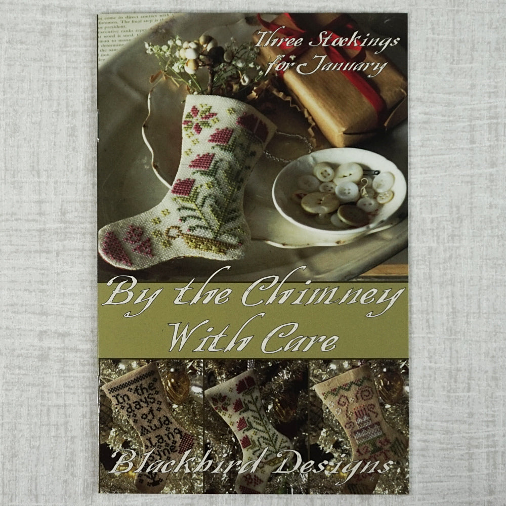 By the Chimney with Care counted cross stitch chart