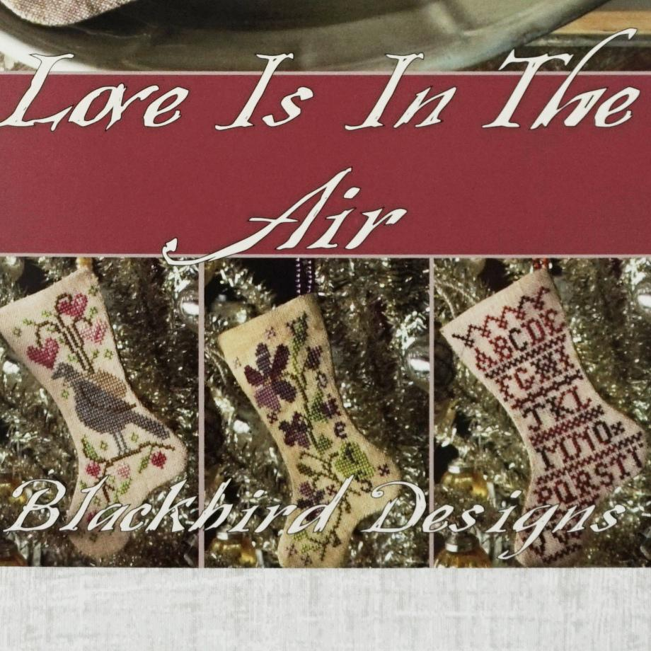 Love is in the Air counted cross stitch pattern booklet