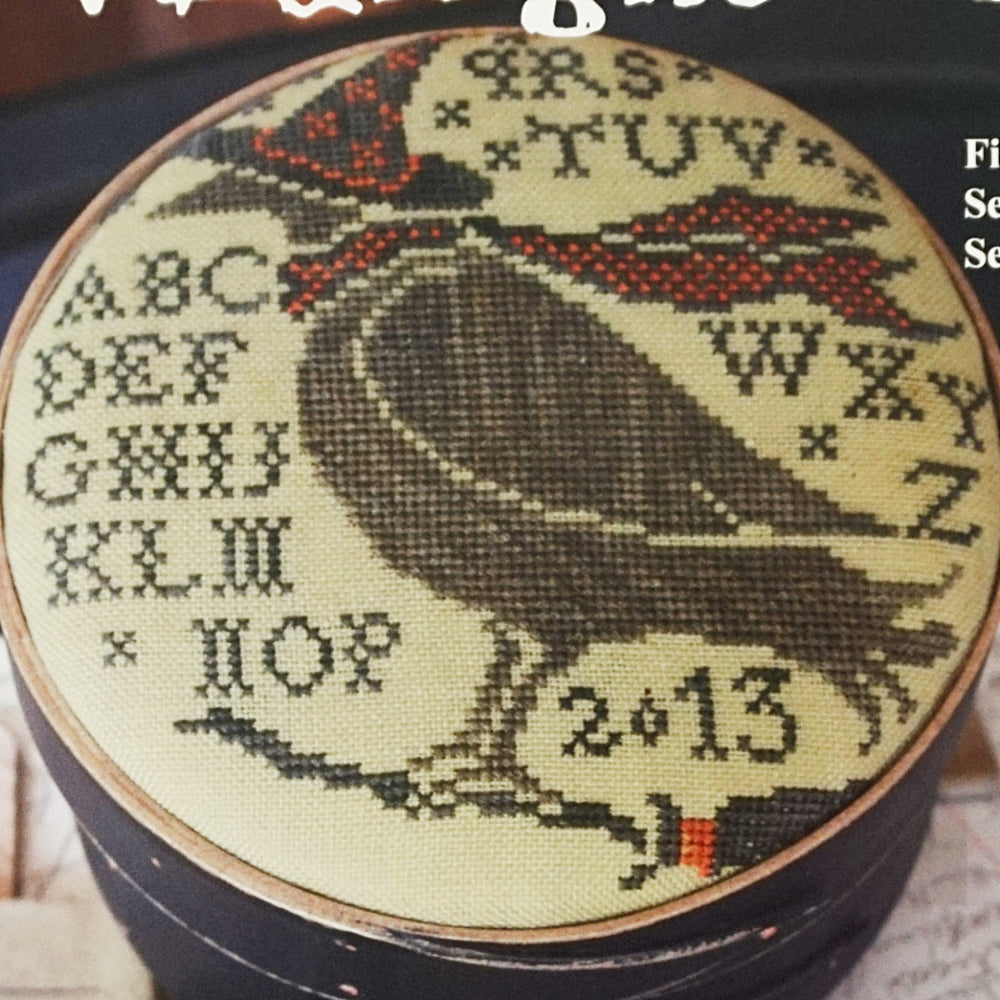 Midnight ride counted cross stitch chart
