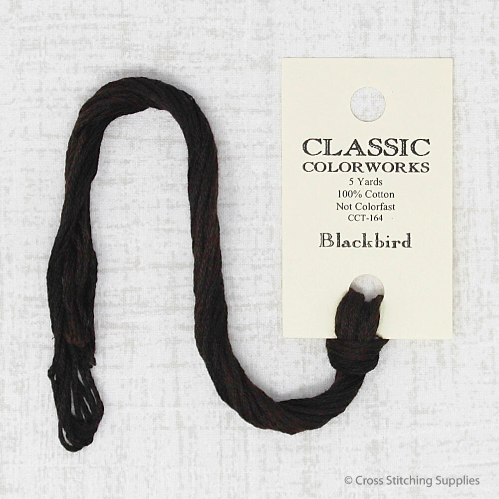 Blackbird Classic Colorworks embroidery thread