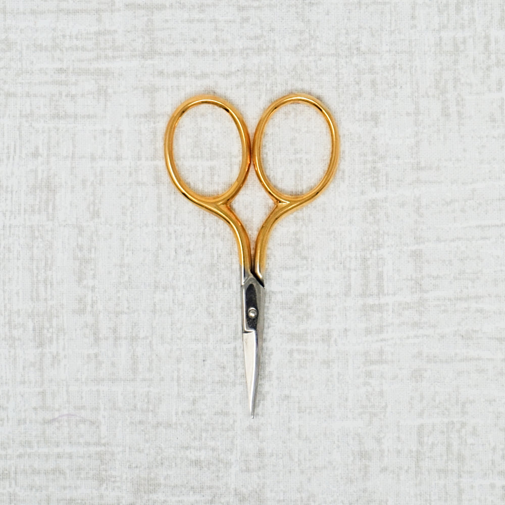 Bohin Gilt Handle Embroidery Scissors