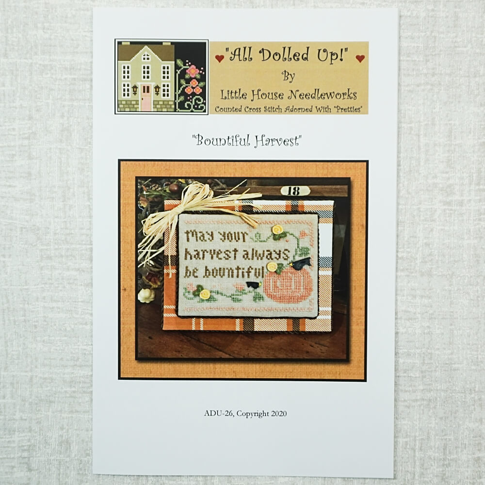 Bountiful Harvest pattern by Little House Needleworks