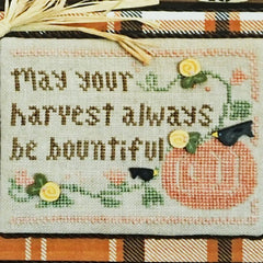 Bountiful Harvest Cross Stitch Pattern | Little House Needleworks