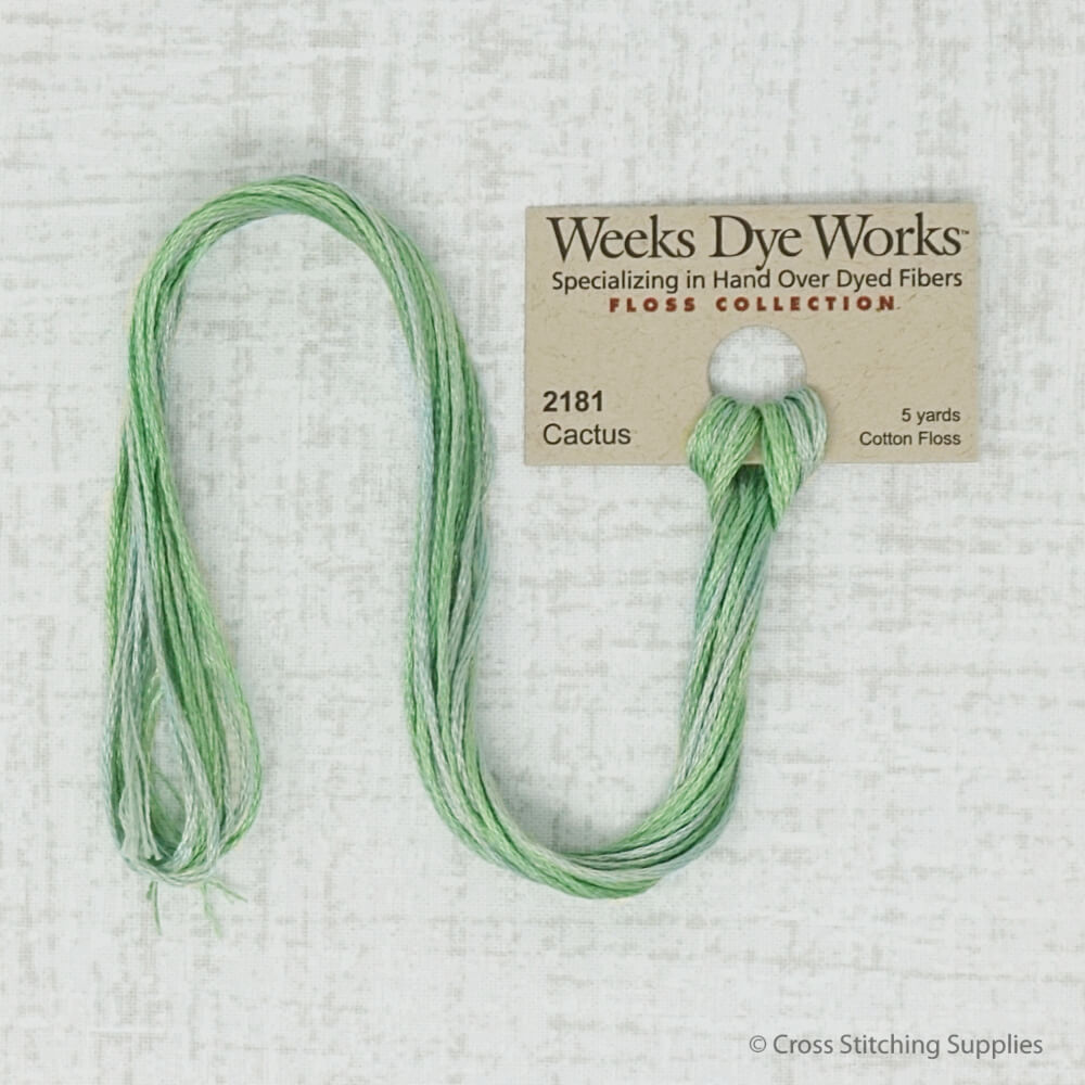 Cactus Weeks Dye Works embroidery thread