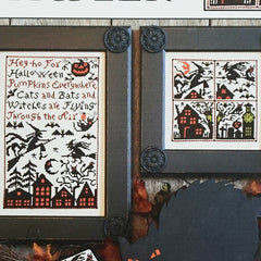 Cats, Bats & Witches Cross Stitch Patterns | The Prairie Schooler