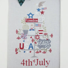 Celebrate 4th July Cross Stitch Pattern | Madame Chantilly