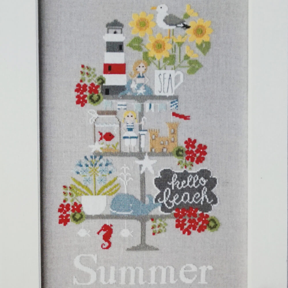 Celebrate Summer counted cross stitch pattern