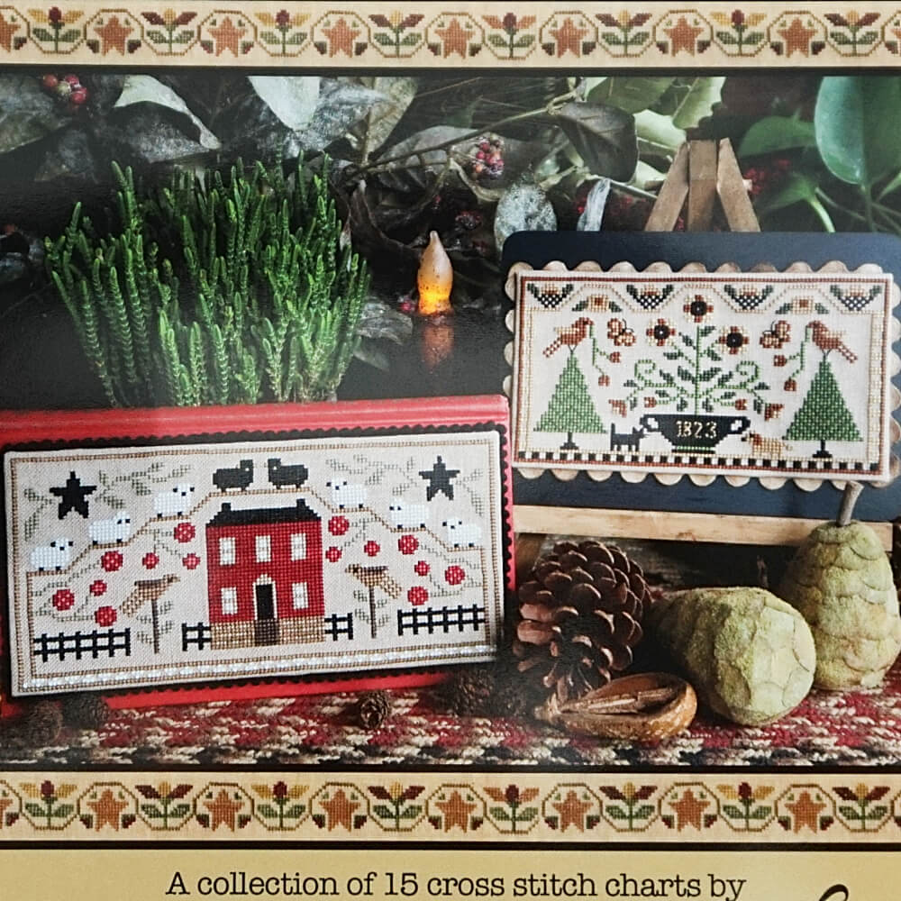 Celebrate counted cross stitch booklet