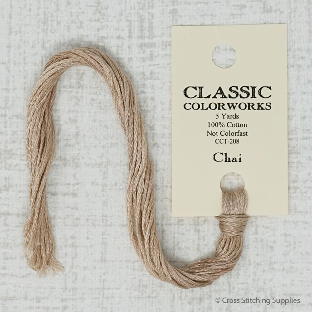 Chai Classic Colorworks embroidery thread