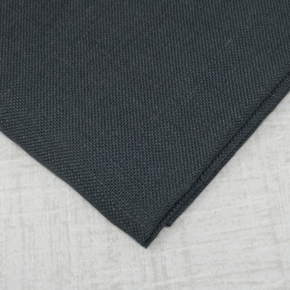 Charcoal 32 count belfast linen from Zweigart