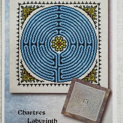 Chartres Labyrinth Cross Stitch Pattern | Ink Circles