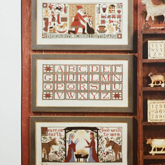 Christmas Traditions Cross Stitch Patterns | The Prairie Schooler