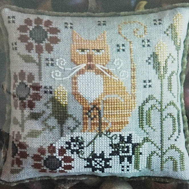 Clementine counted cross stitch pattern