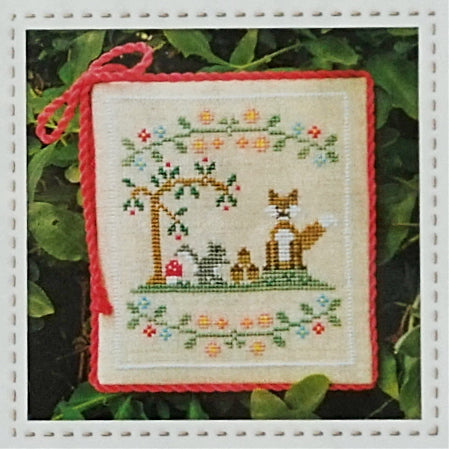 Forest Fox and Friends Cross Stitch Pattern | Country Cottage Needleworks