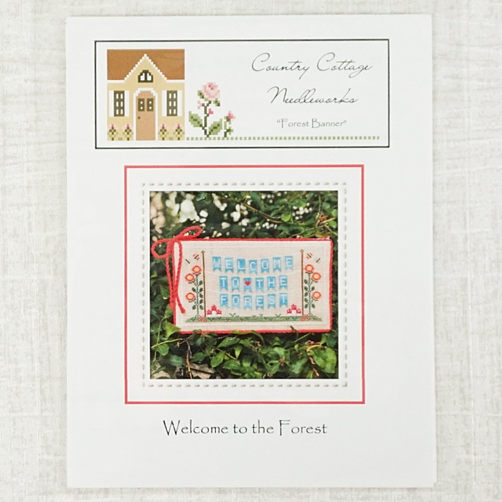 Forest Banner by Country Cottage Needleworks
