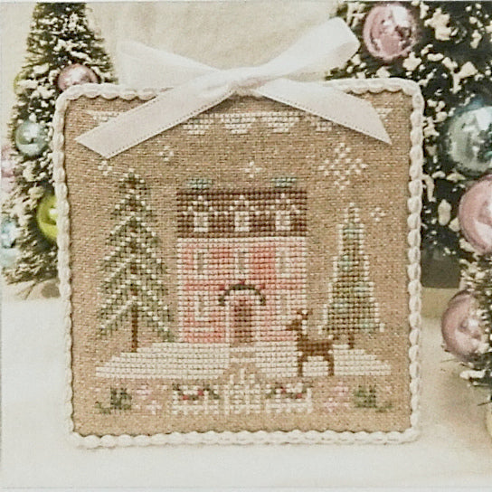 Glitter House 4 counted cross stitch chart