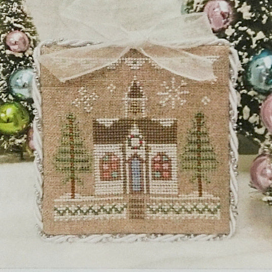 Glitter House 5 counted cross stitch chart