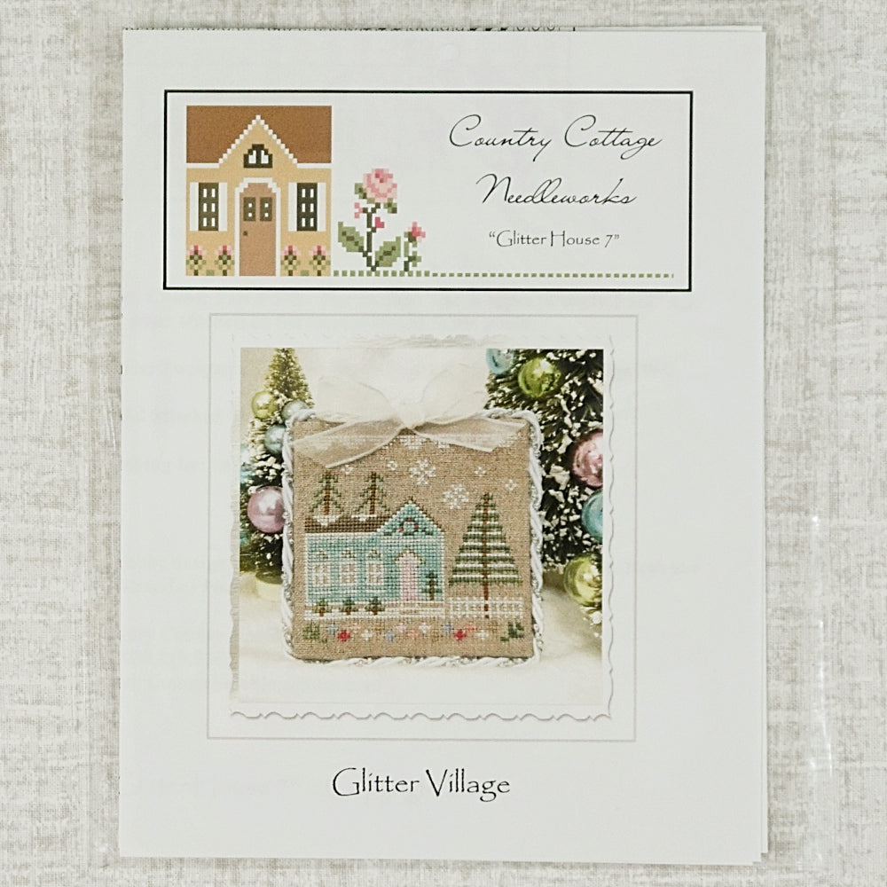 Glitter House 7 by Country Cottage Needleworks for sale