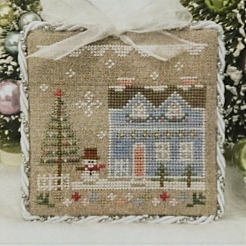 Glitter House 9 counted cross stitch chart