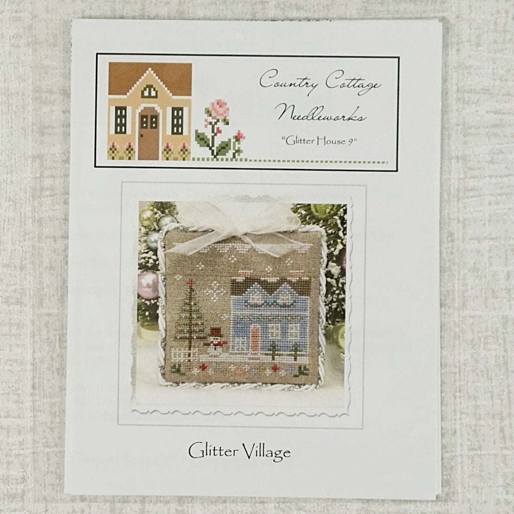 Glitter House 9 by Country Cottage Needleworks for sale