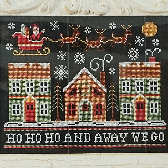 Away We Go counted cross stitch pattern