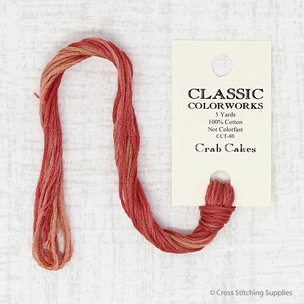 Crab Cakes Classic Colorworks embroidery thread