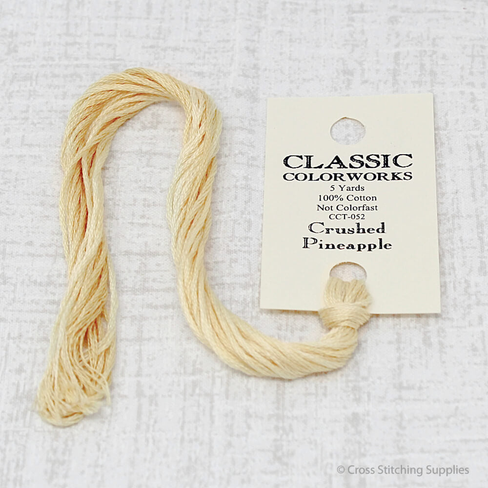 Crushed Pineapple Classic Colorworks embroidery floss