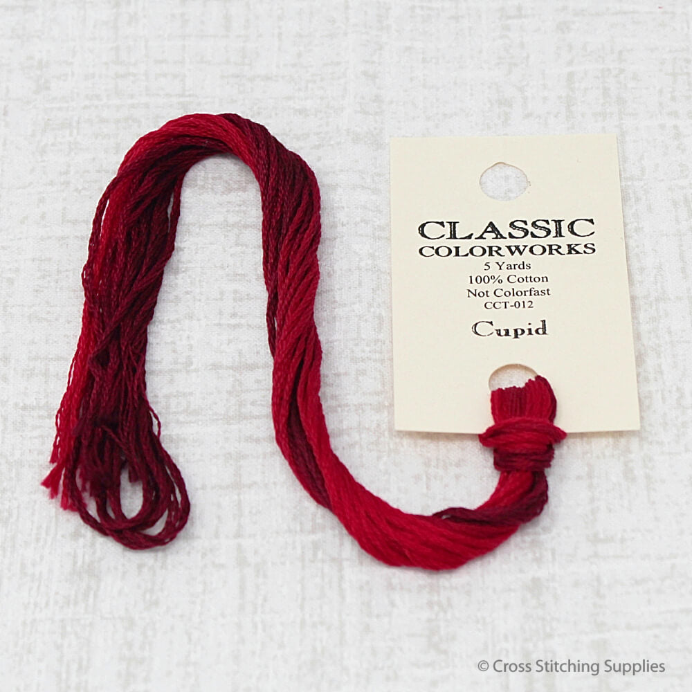 Cupid Classic Colorworks embroidery floss