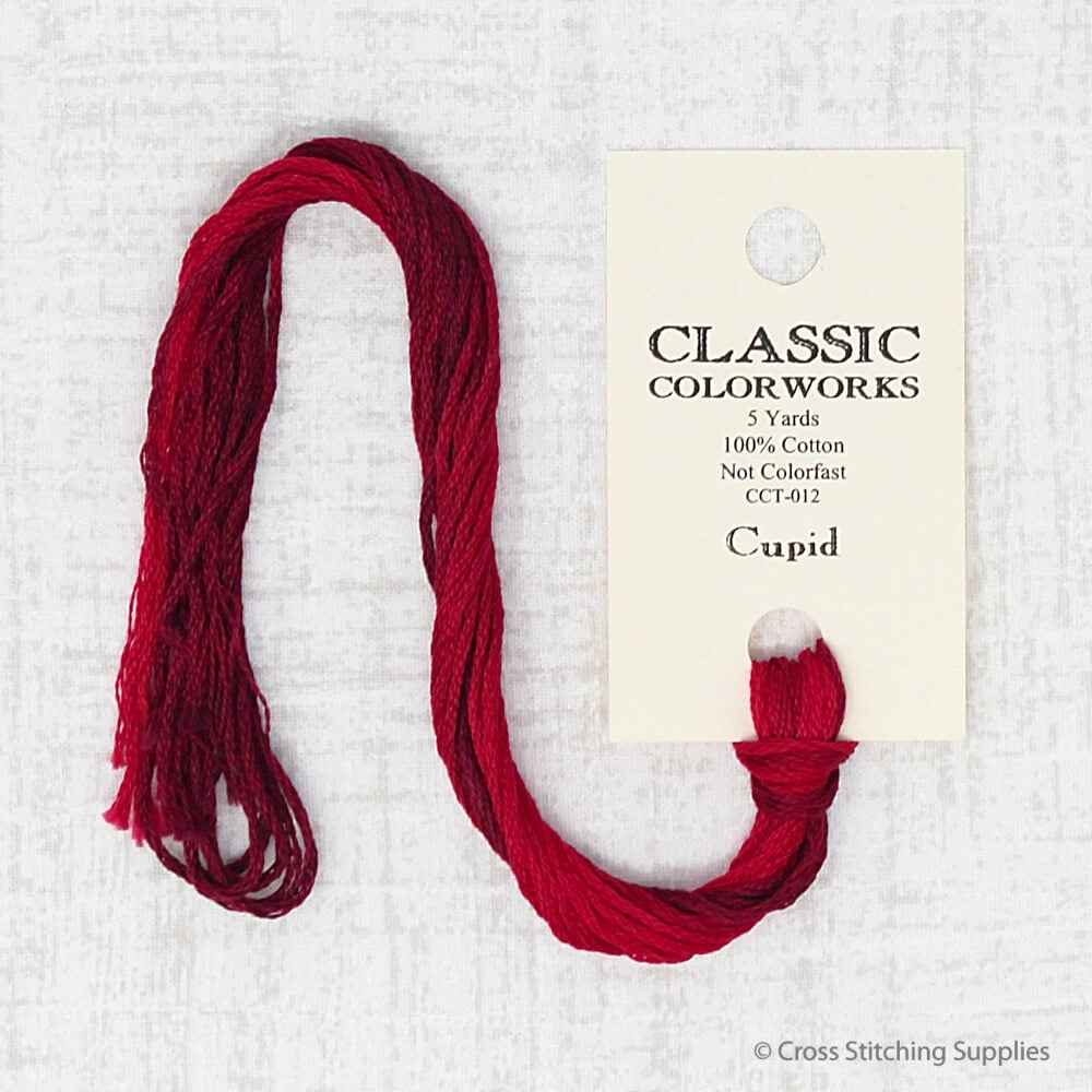 Cupid Classic Colorworks embroidery thread