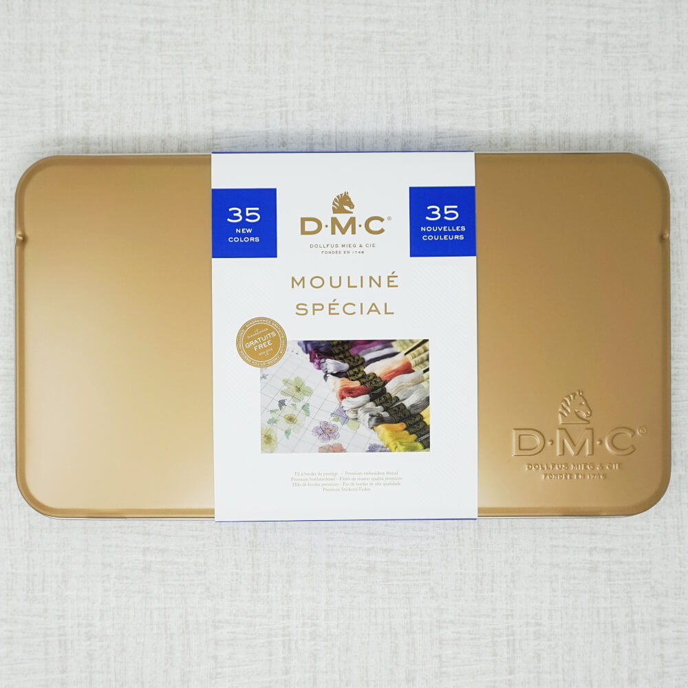DMC special edition floss tin released in 2017
