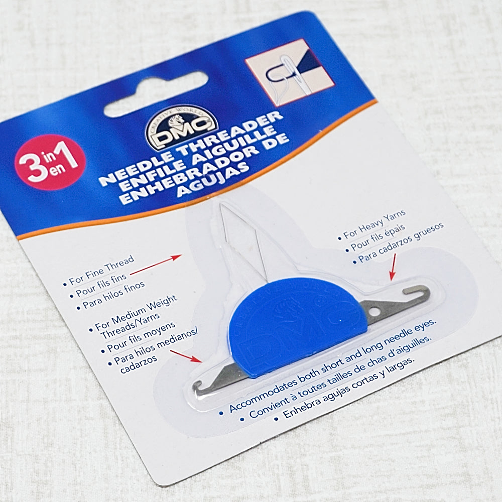 DMC needle threader great for cross stitch