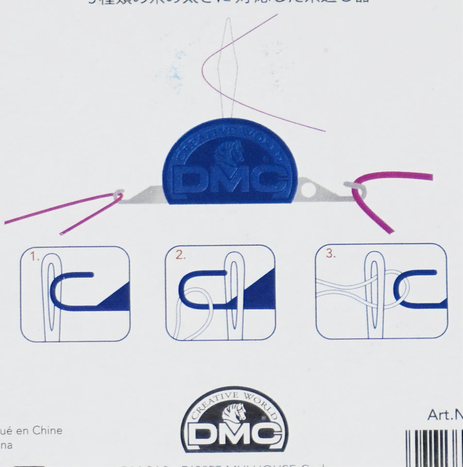 dmc needle threader instructions on package