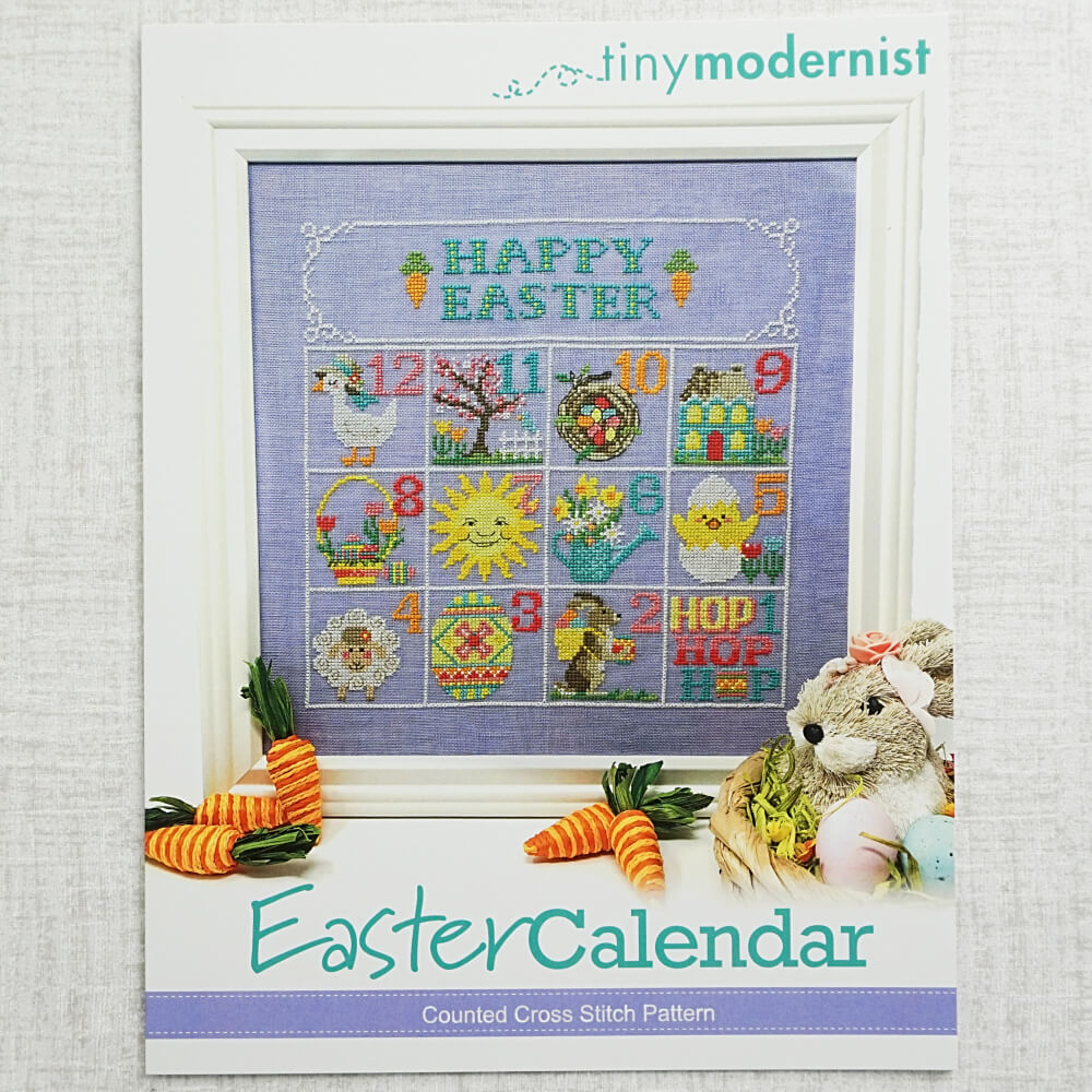 Easter Calendar by Tiny Modernist