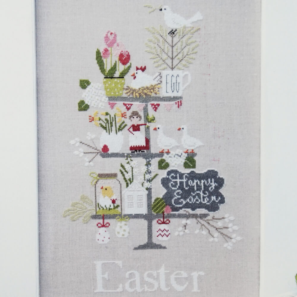 Celebrate Easter counted cross stitch pattern