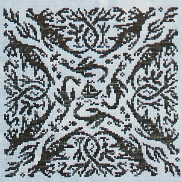 Elemental Dragons Water counted cross stitch pattern