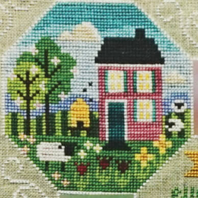 Every Season: Part 2 Spring counted cross stitch pattern