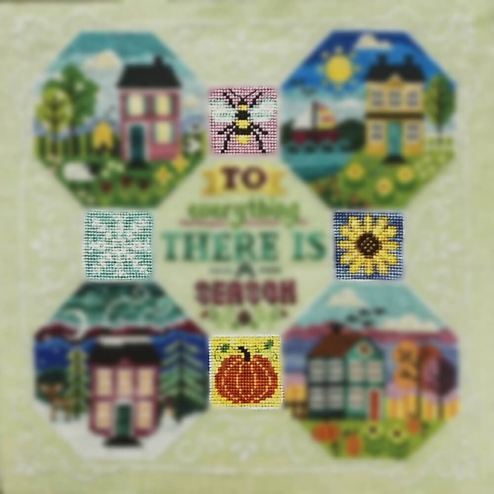 Every Season: Part 6 Motifs counted cross stitch patterns