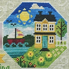 Every Season: Part 3 Summer Cross Stitch Pattern | Tiny Modernist