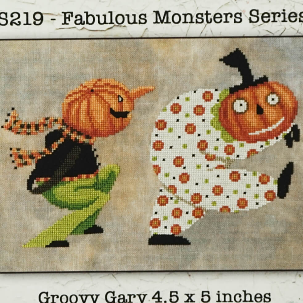 Fabulous Monsters Series counted cross stitch pattern
