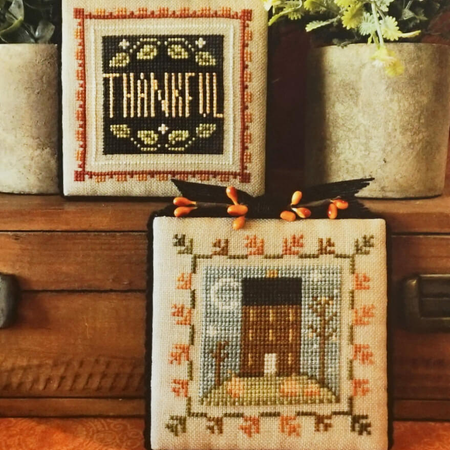 Fall is in the Air counted cross stitch patterns