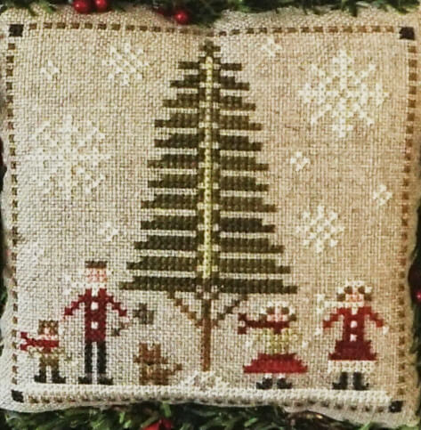 Family Fun Counted Cross Stitch Pattern