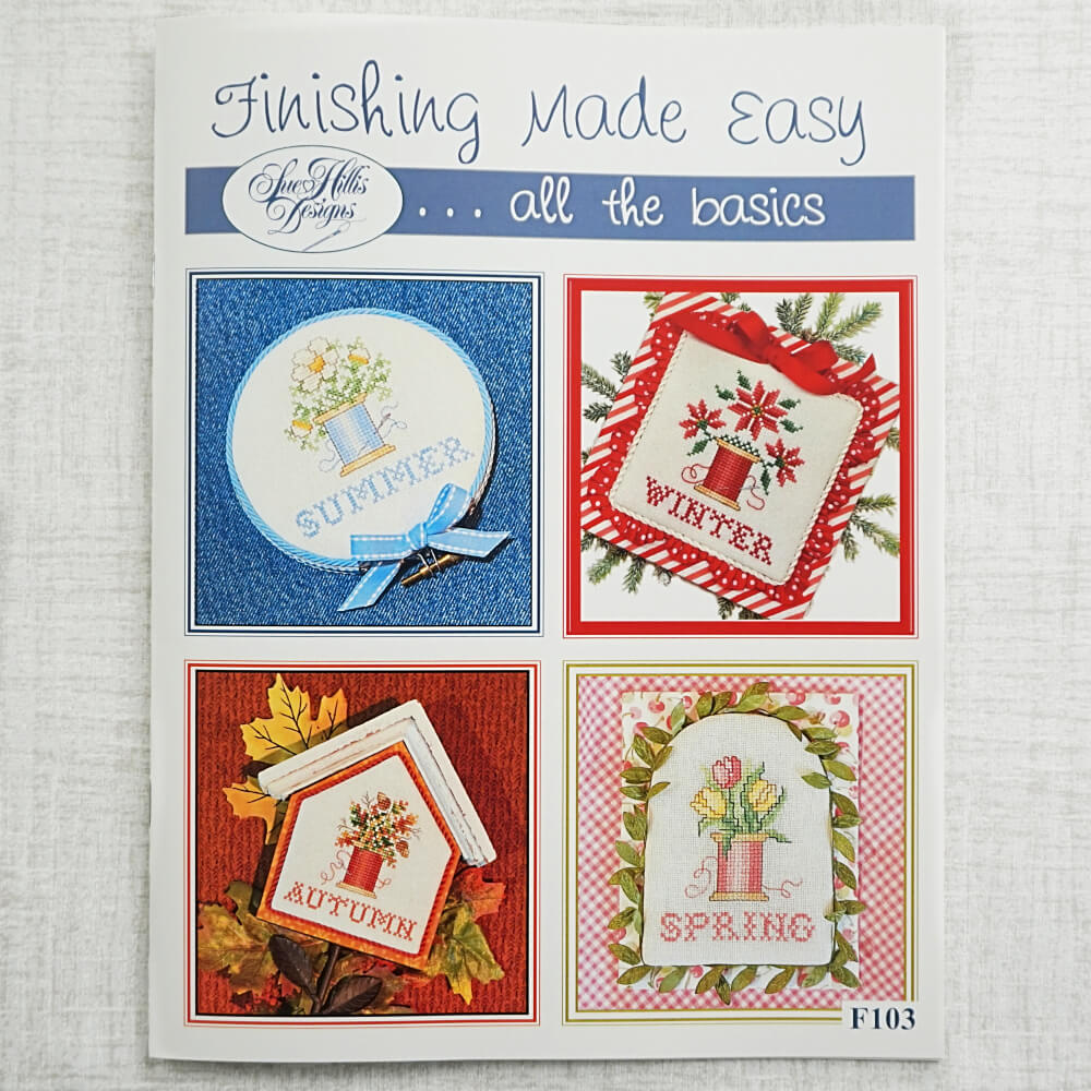 Finishing Made Easy Cross Stitch Booklet